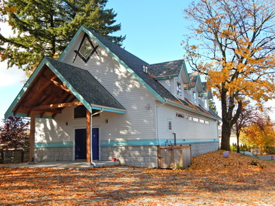 Picture of Freemason Hall on grosvenor Road in Surrey, B.C.